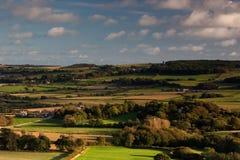 Côte de Knowle, Dorset, R-U Photo stock