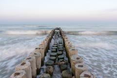 Côte de l'Adriatique de mer Photographie stock libre de droits