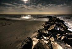 Côte de l'Océan Atlantique Photographie stock libre de droits