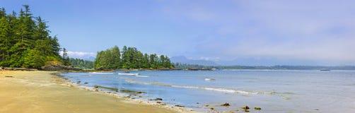 Côte de l'océan pacifique, île de Vancouver, Canada photographie stock libre de droits