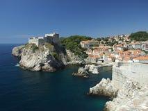 Côte de la Croatie photographie stock libre de droits