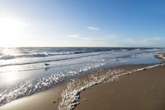 Côte de la Mer du Nord de Néerlandais photo libre de droits
