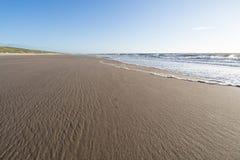 Côte de la Mer du Nord de Néerlandais photos libres de droits