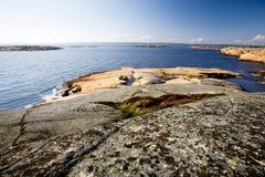 Côte de la Norvège Photos stock