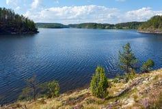 Côte de Ladoga Image libre de droits