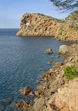 Côte de Majorca Images stock