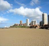 Côte de Mar del Plata Photographie stock libre de droits