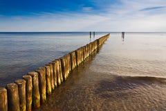 Côte de mer baltique Photographie stock