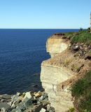 Côte de mer baltique Photos libres de droits