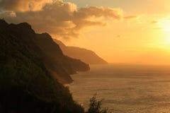 Côte de Na Pali Images libres de droits