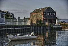 Côte de Nantucket dans le Massachusetts photo stock