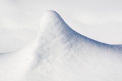 Côte de neige Image libre de droits