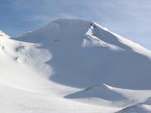 Côte de neige Photo libre de droits