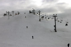 Côte de ski Photo stock
