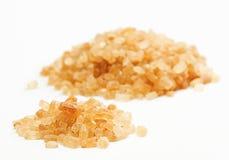 Côte de sucre de canne d'isolement sur le blanc Image libre de droits