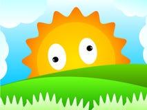Côte de Sun Image stock