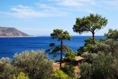 Côte de turquoise de la Turquie Image libre de droits