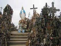 Côte des croix Photographie stock