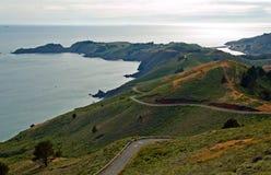 Côte du comté de Marin, la Californie Photographie stock libre de droits