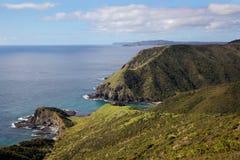 Côte du nord d'île Image libre de droits