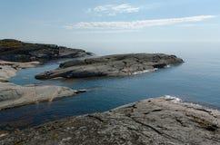 Côte en pierre de Ladoga Photographie stock libre de droits