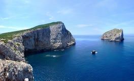 Côte en Sardaigne Photographie stock libre de droits