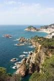 côte Espagne de brava images stock
