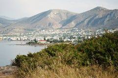 Côte grecque Photos stock