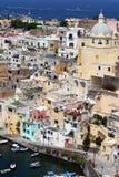 Côte italienne, procida, Naples photos libres de droits