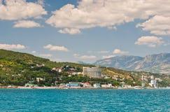 Côte méridionale de la Crimée images stock