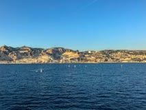 Côte Marseille photographie stock