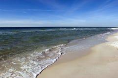 Côte mexicaine de Golfe images stock