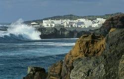 Côte no.1 de Lanzarote Photographie stock libre de droits