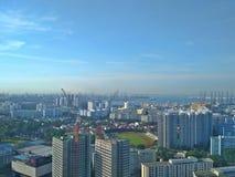 Côte ouest de Singapour photos libres de droits