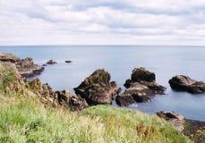 Côte rocheuse Photos stock