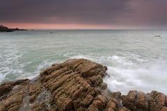 Côte rocheuse Photo stock