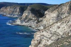 Côte rocheuse, Espagne Images stock