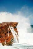 Côte rugueuse du cap du bon espoir, Afrique du Sud Photographie stock libre de droits