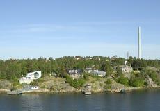 côte Suède Photos libres de droits