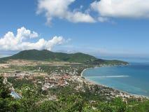 Côte sur l'île de Hainan Images stock