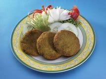 Côtelette à l'oignon de concombre Image stock