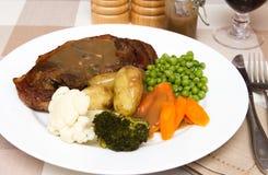 Côtelette cuite de Barnsley Photo libre de droits