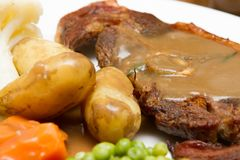 Côtelette cuite de Barnsley Image stock