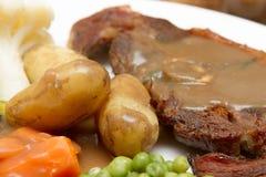 Côtelette cuite de Barnsley Images libres de droits