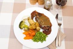 Côtelette cuite de Barnsley Images stock