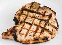 Côtelette de porc grillée Image libre de droits