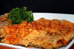 Côtelette taiwanaise de poulet frit Image libre de droits