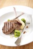 Côtelettes d'agneau de Frenched Image stock