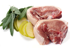 Côtelettes de porc Images stock