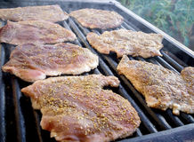 Côtelettes de viande Photos stock